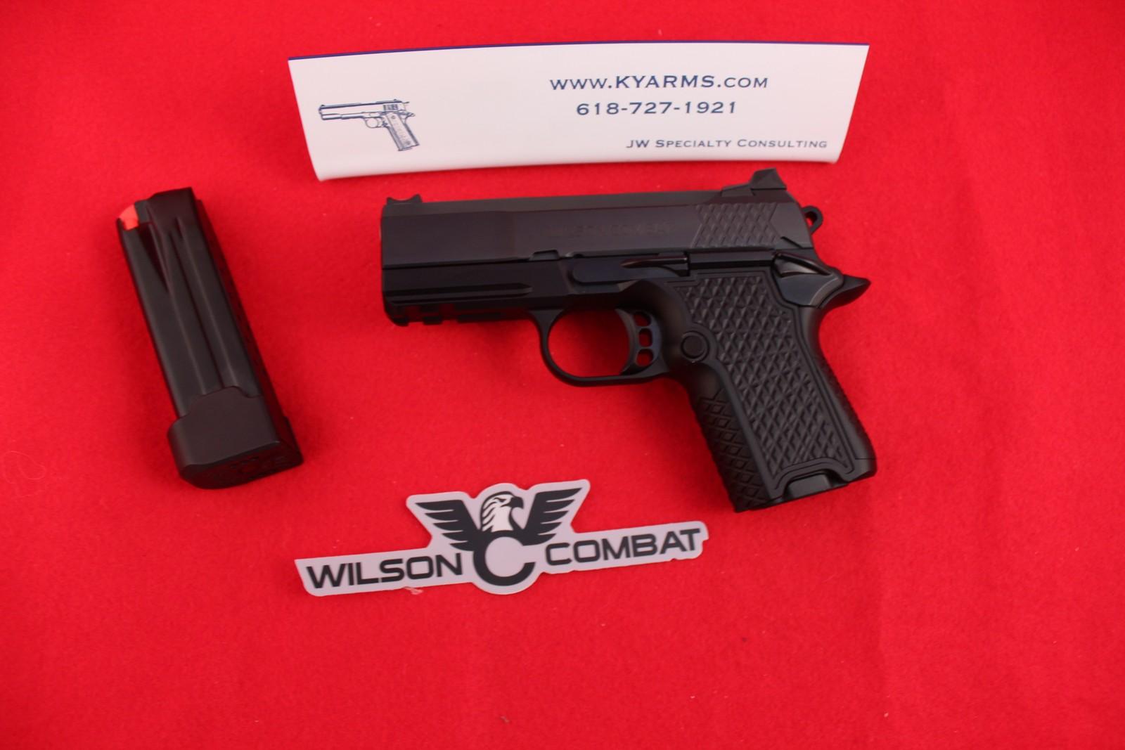 Wilson Combat EDC-X9S Sub Compact 9MM