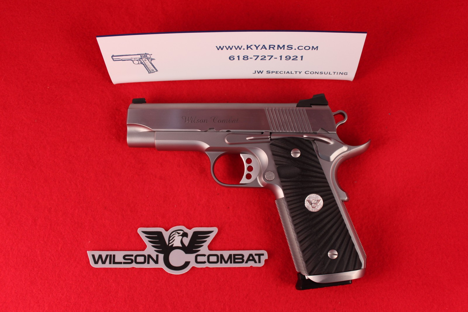 Wilson Combat Tactical Supergrade Professional .45 ACP WC23687