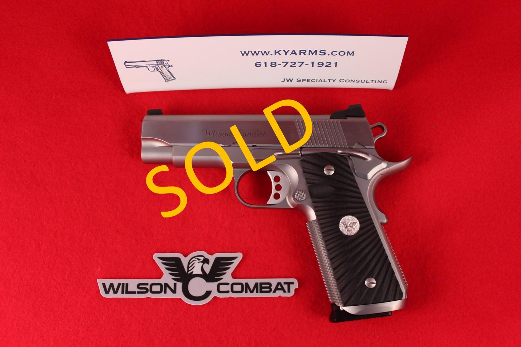 Wilson Combat Tactical Supergrade Professional .45 ACP WC23687